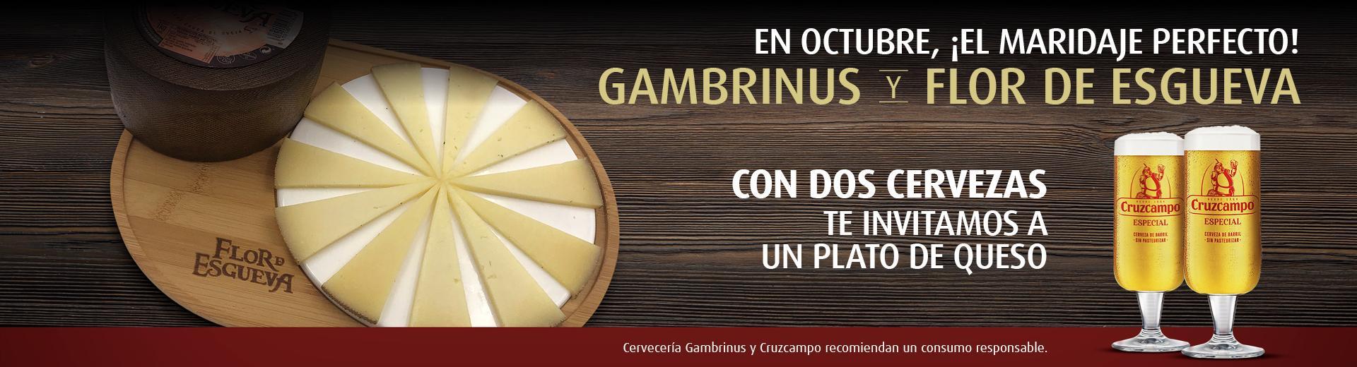 Gambrinus y Flor de Esgueva