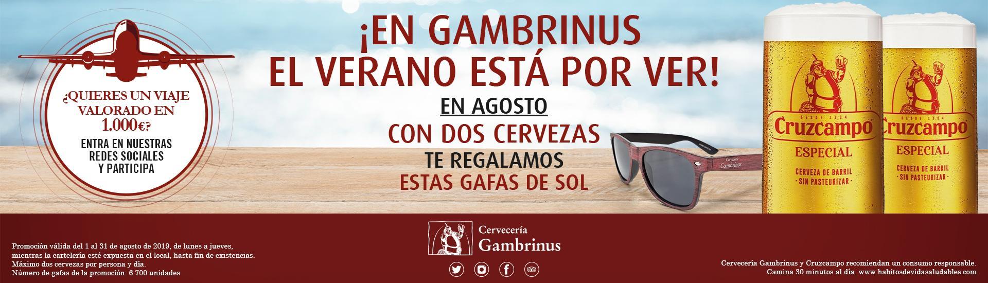 En Gambrinus el verano está por ver